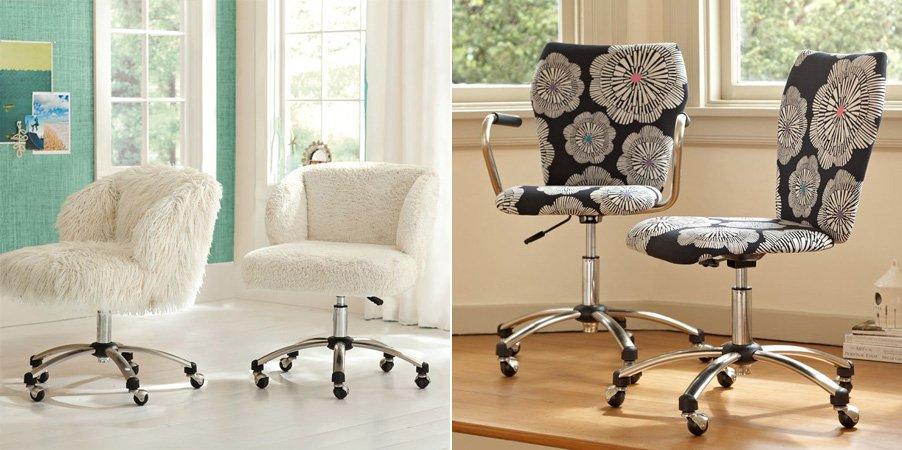 Sillas de oficina con estilo y color decoraci n del hogar - Sillas de habitacion ...