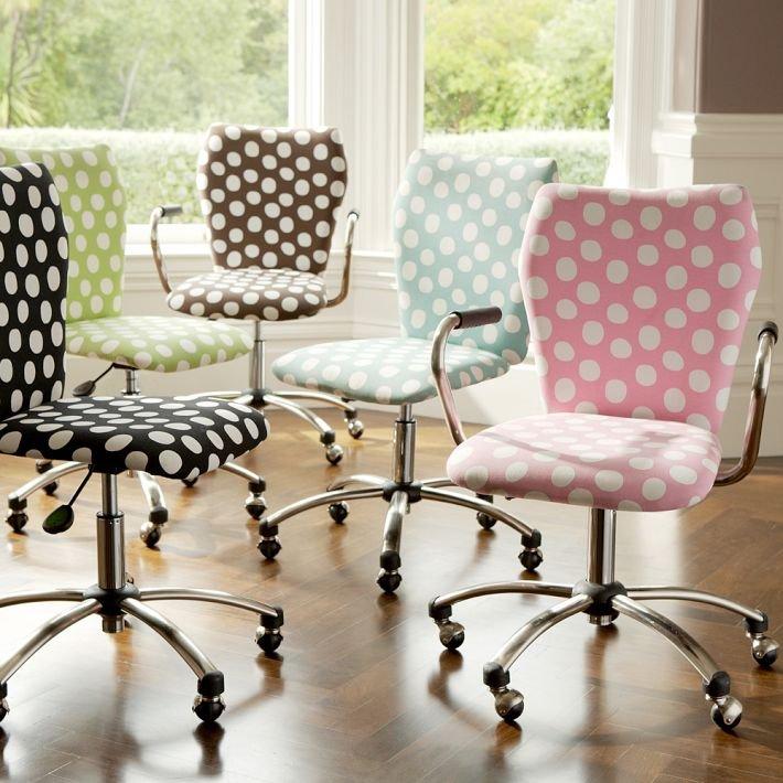 Sillas de oficina con estilo y color decoraci n del hogar for Sillas de escritorio de diseno