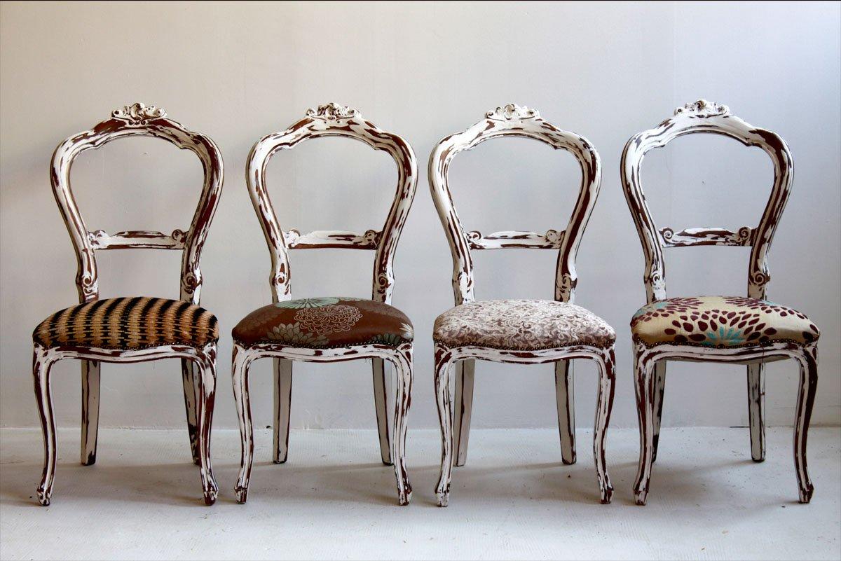 Muebles reciclados de segnomaterico decoraci n del hogar for Sedie particolari