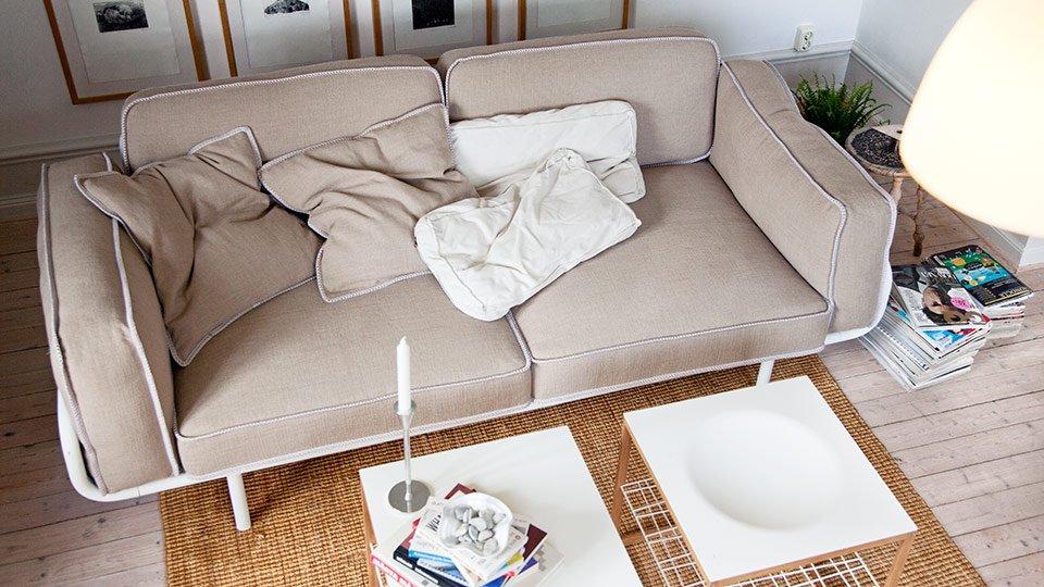 Excelente Sofá De Muebles Banco De Ikea Colección - Muebles Para ...