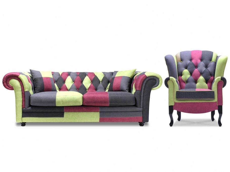 Muebles de estilo patchwork entran en nuestros hogares for Sofas vintage baratos