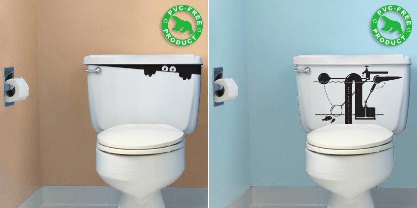 Stickers para el cuarto de ba o decoraci n del hogar - Cuartos de bano clasicos ...