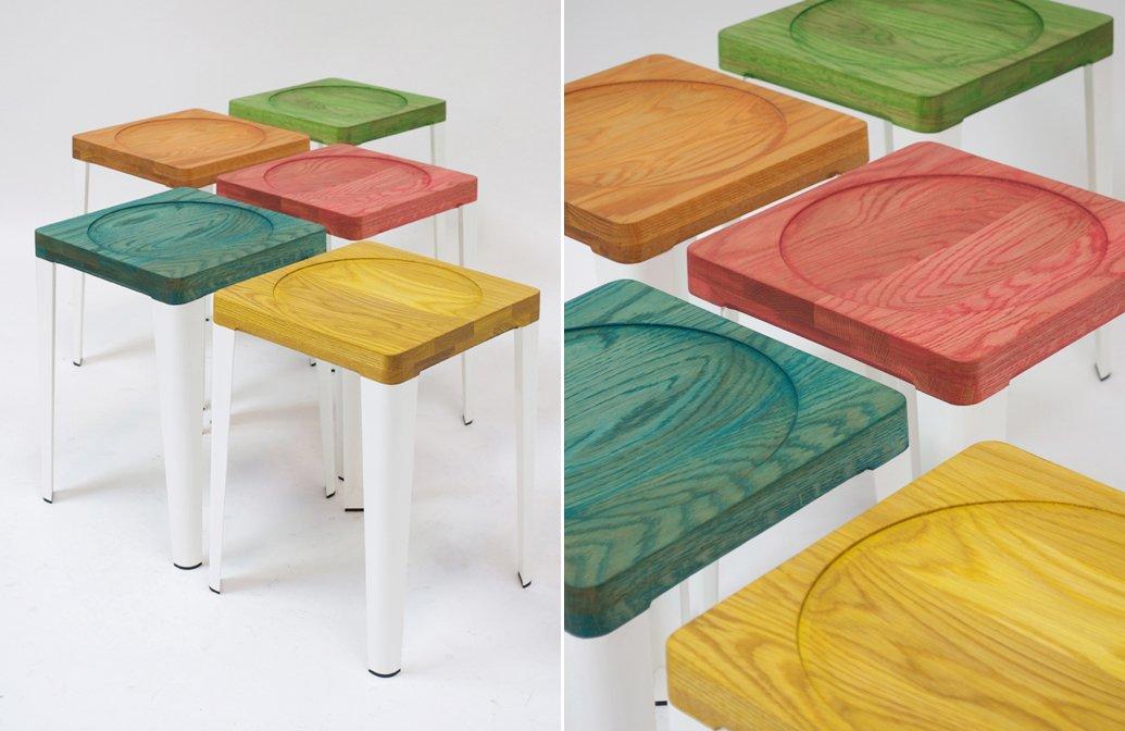 Taburetes tutti frutti asientos llenos de colorido para tu cocina decoraci n del hogar - Asientos para taburetes ...