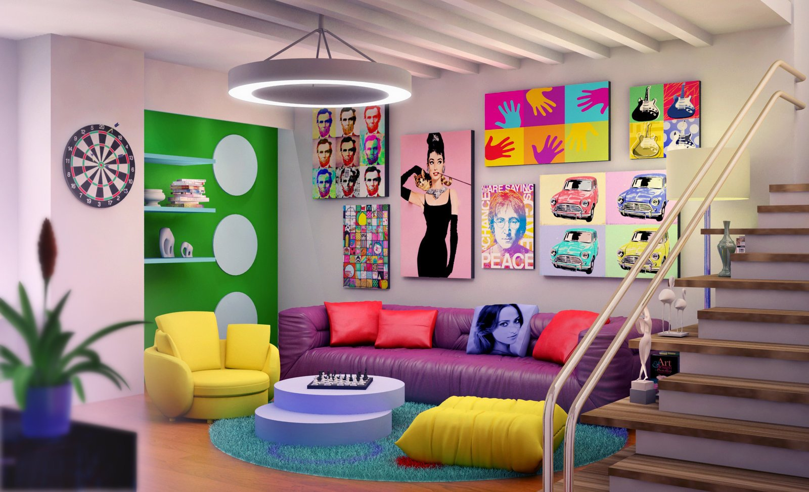 Tendencias En Decoraci N Estilo Pop Art Decoraci N Del Hogar