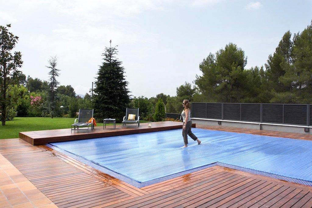 Tipos de cubiertas para piscinas decoraci n del hogar - Decoracion piscinas exteriores ...