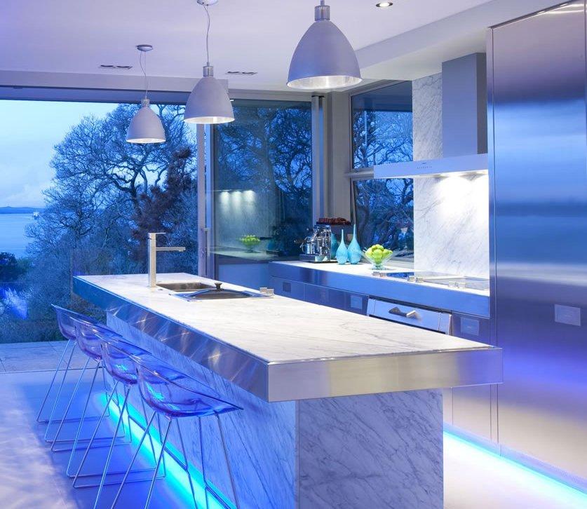 Tipos de iluminación. Decoración del hogar.