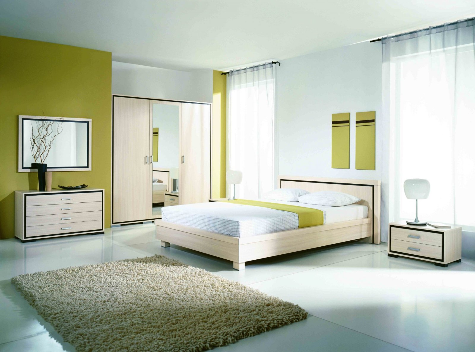 Ideas para agrandar una habitaci n decoraci n del hogar for Dormitorio simple