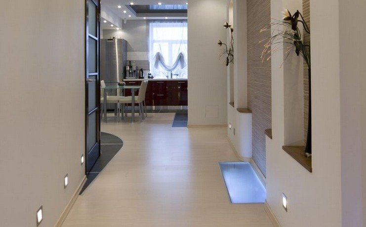Consejos para sacar el m ximo provecho de los pasillos - Lamparas para pasillos casa ...