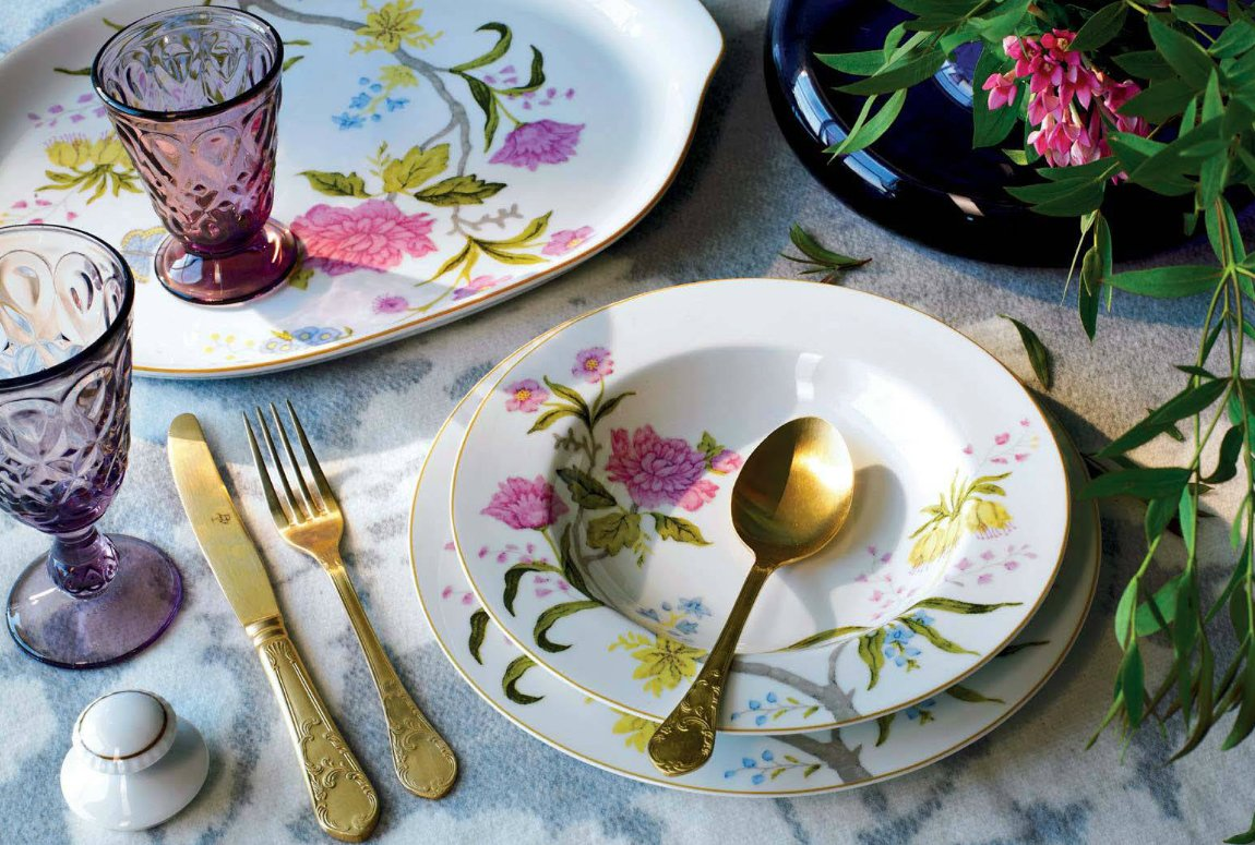 Vajilla con encanto decoraci n del hogar for Vajillas elegantes