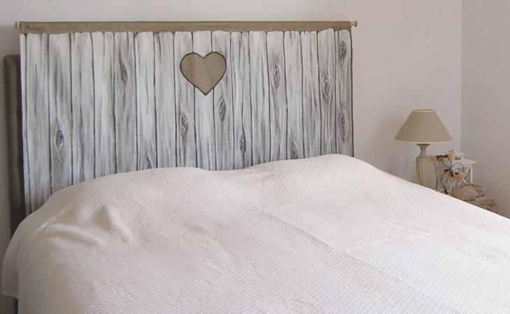 Cabeceros de madera artesanales i decoraci n - Cabeceros de cama vintage ...