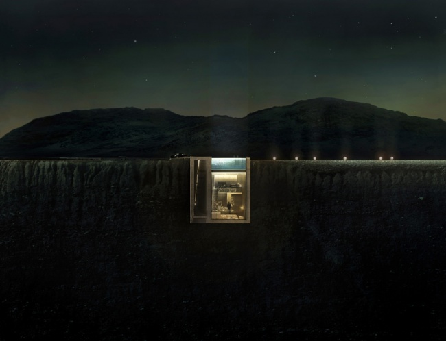 Casa con increibles vistas a un acantilado (4)