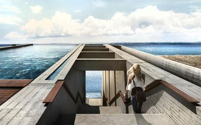 Casa con increibles vistas a un acantilado (6)