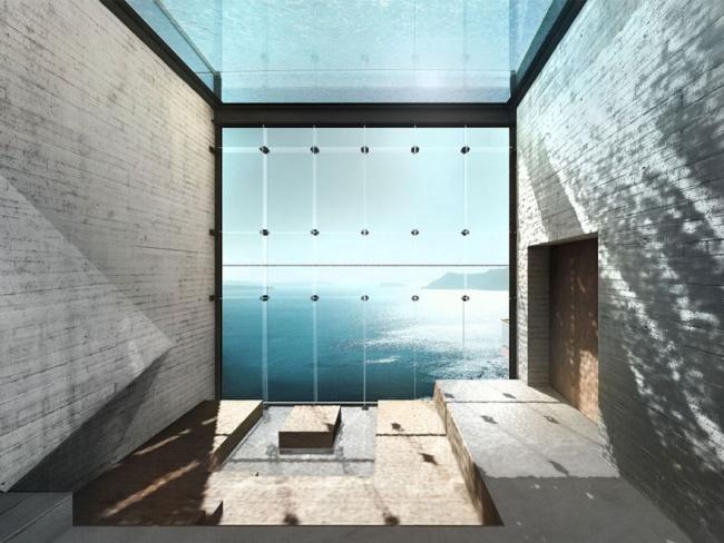 Casa con increibles vistas a un acantilado (8)