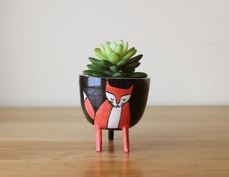 Delicados accesorios de ceramica de animales (7)