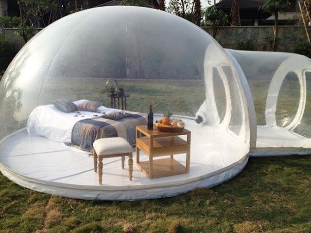 Iglú hinchable para poder acampar en cualquier parte (3)