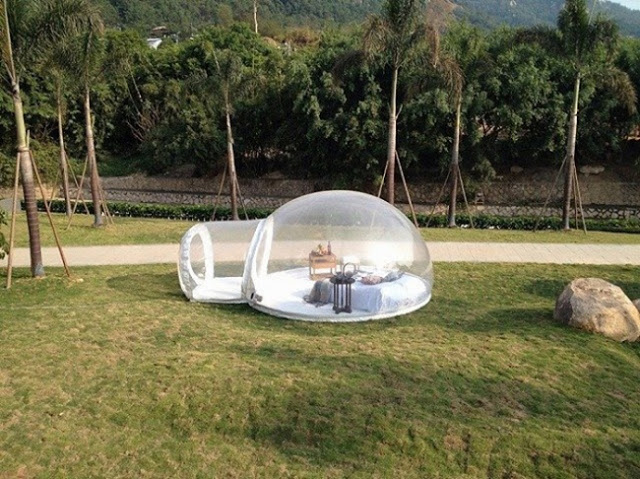 Iglú hinchable para poder acampar en cualquier parte (4)