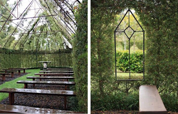 Iglesia floral en Nueva Zelanda (1)