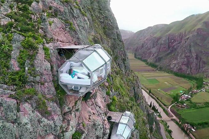 Modulos transparentes para dormir en la montana (2)