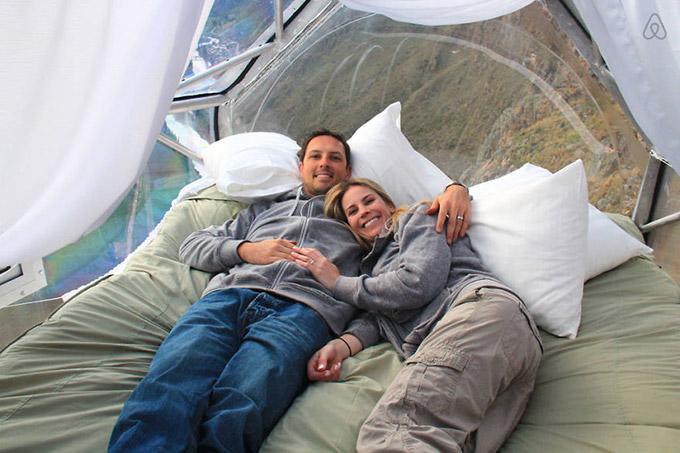 Modulos transparentes para dormir en la montana (8)