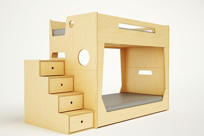 Muebles infantiles artesanales creados por Roberto Gil | I-Decoración