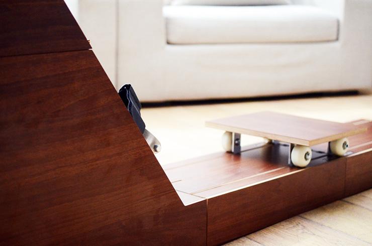 Ram&Row, mesa de centro y máquina de remo (5)